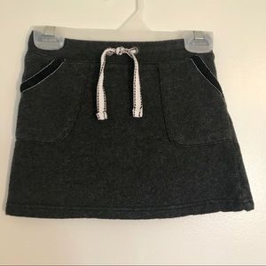 👧 Carter's Charcoal Gray Knit Skirt